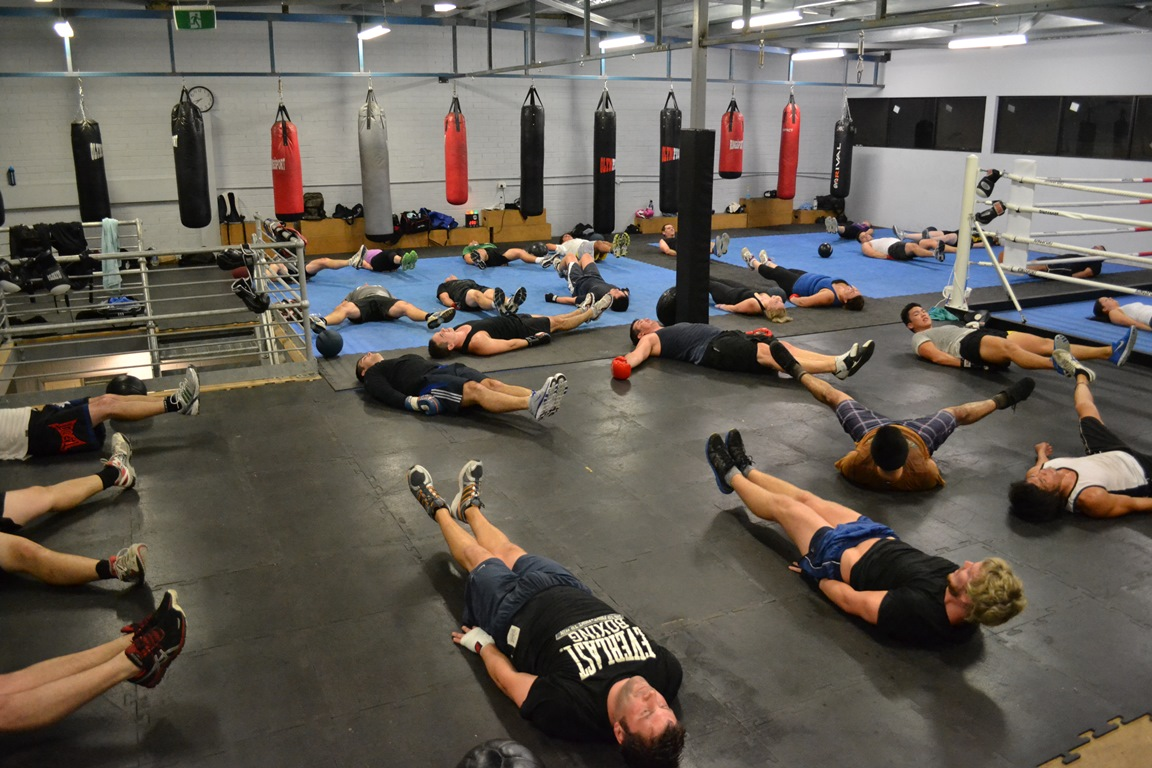 Premier boxing club ab work out