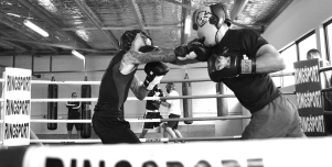 Premier boxing club sparring