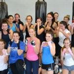 Girls only boxing class