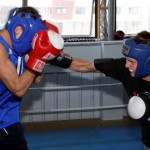 Premier boxing Australian champs sparring